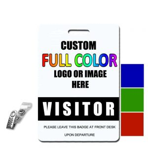 Visitor Badges & Visitor Tags | Quick Badge & Sign Inc
