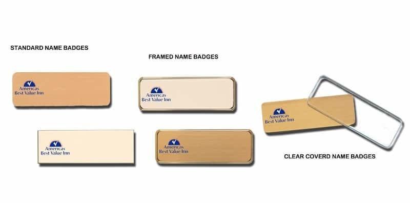 americas-best-value-inn-name-badges
