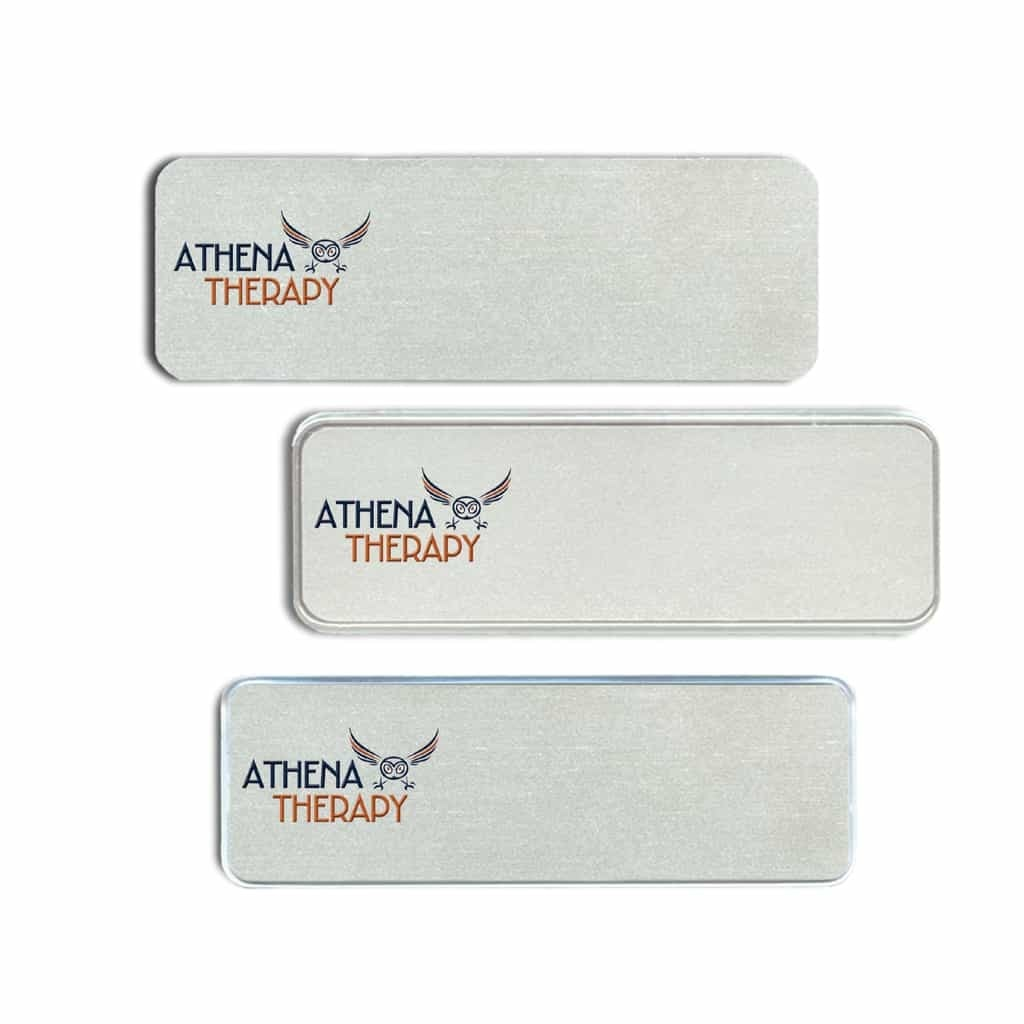 Name Badges and Name Tags for Athena Therapy