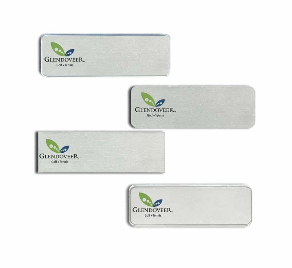 Glendoveer Golf Club Name Tags Badges