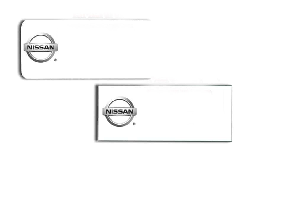 Nissan-Name-Tags-Badges