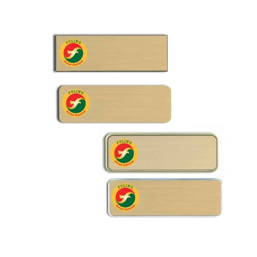 Fulin's Name Tags Badges