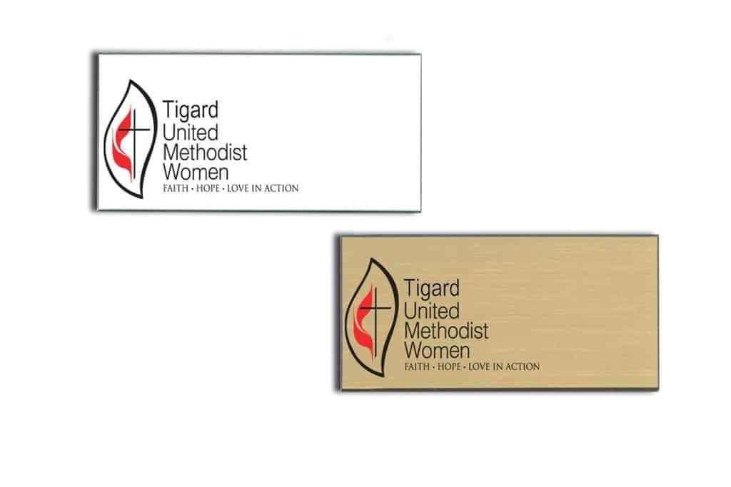United Methodist Women Name Tags Badges