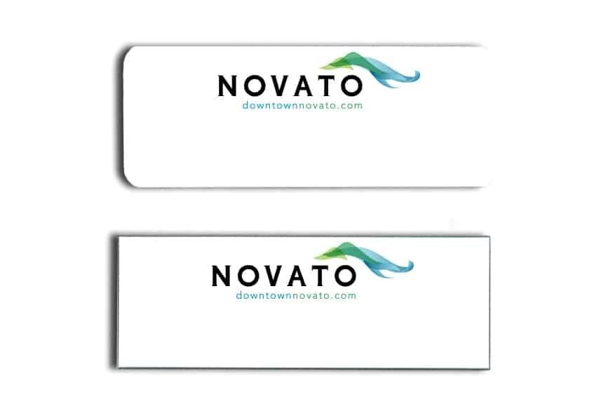 Novato Name Tags Badges