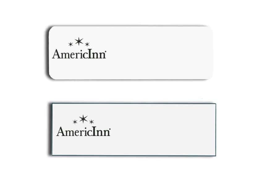 AmericInn Name Tags Badges