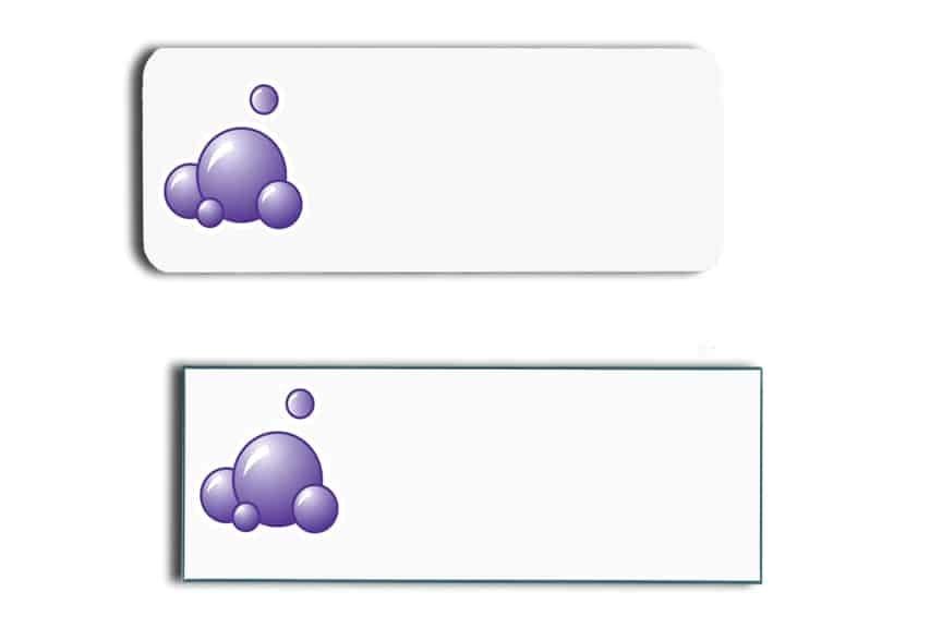 Auto Bath Name Tags Badges