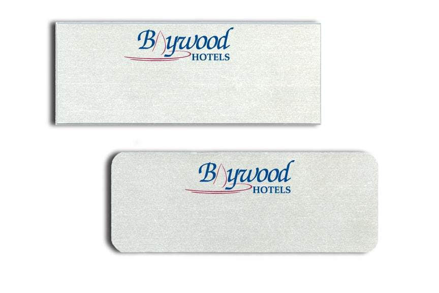 Baywood Hotels Name Tags Badges