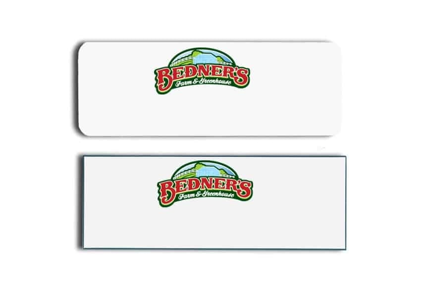Bedners Farm Name Tags Badges