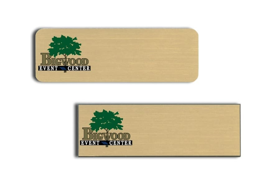 Bigwood Event Center Name Tags Badges