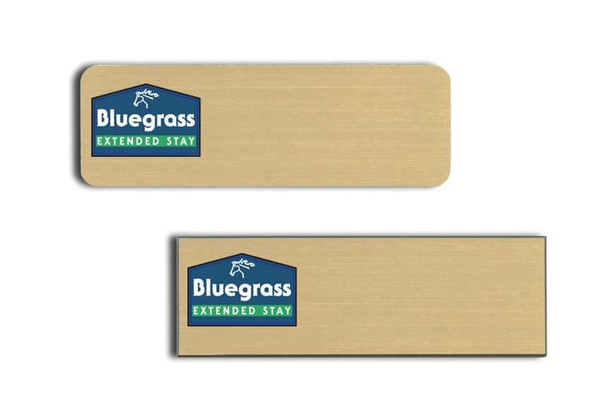 Bluegrass Ext Stay Name Tags Badges