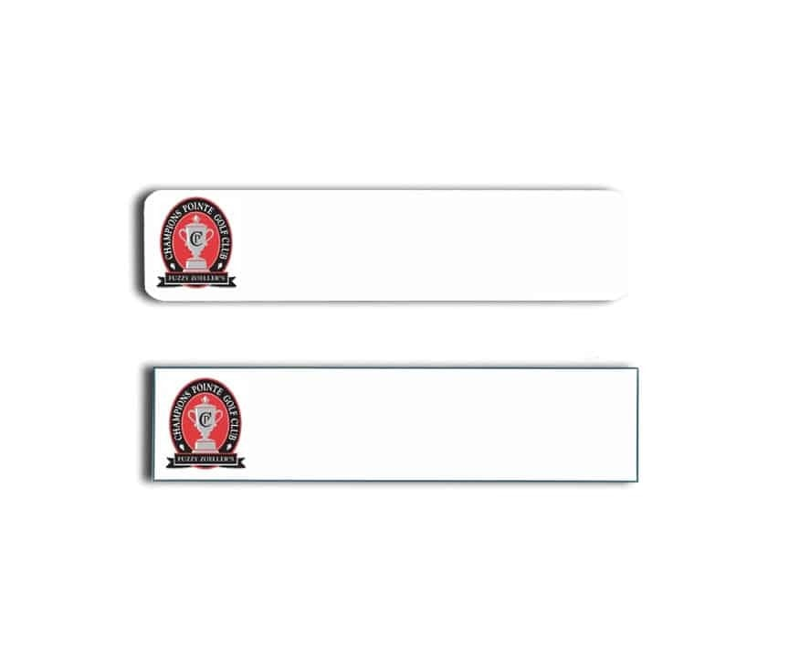 Champions Pointe Golf Club Name Tags Badges