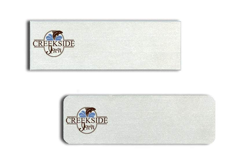Creekside Inn Name Tags Badges