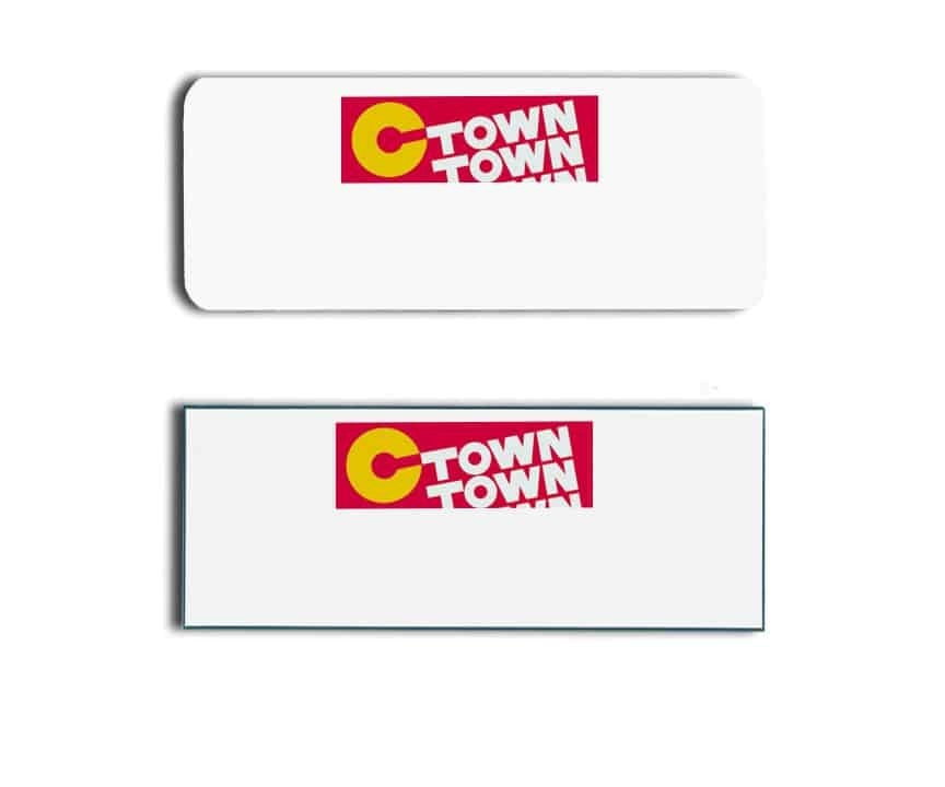 Ctown Name Tags Badges