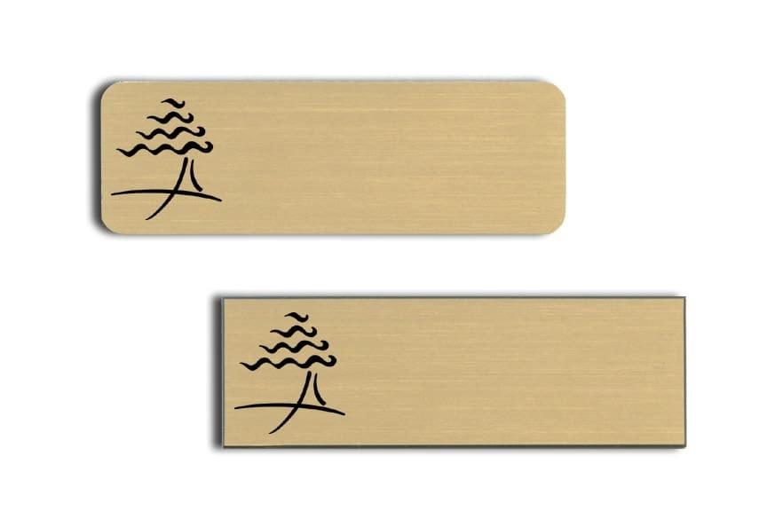 Cypress Inn Name Tags Badges