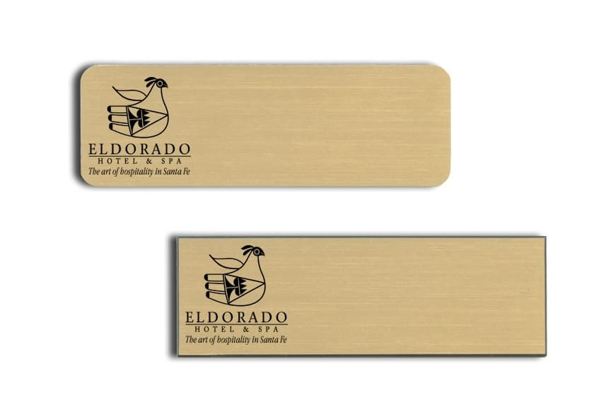 Eldorado Hotel and Spa Name Tags Badges