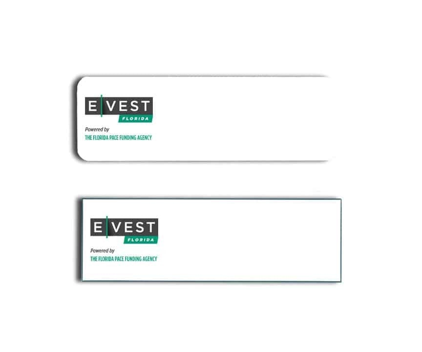 Evest Florida Name Tags Badges