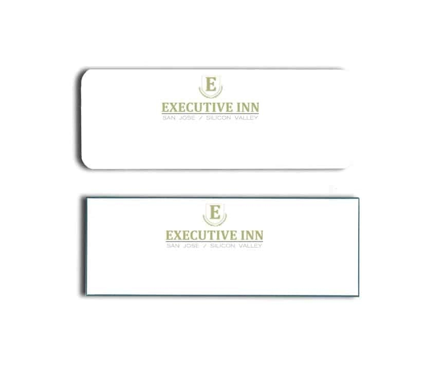 Executive Inn San Jose Name Tags Badges