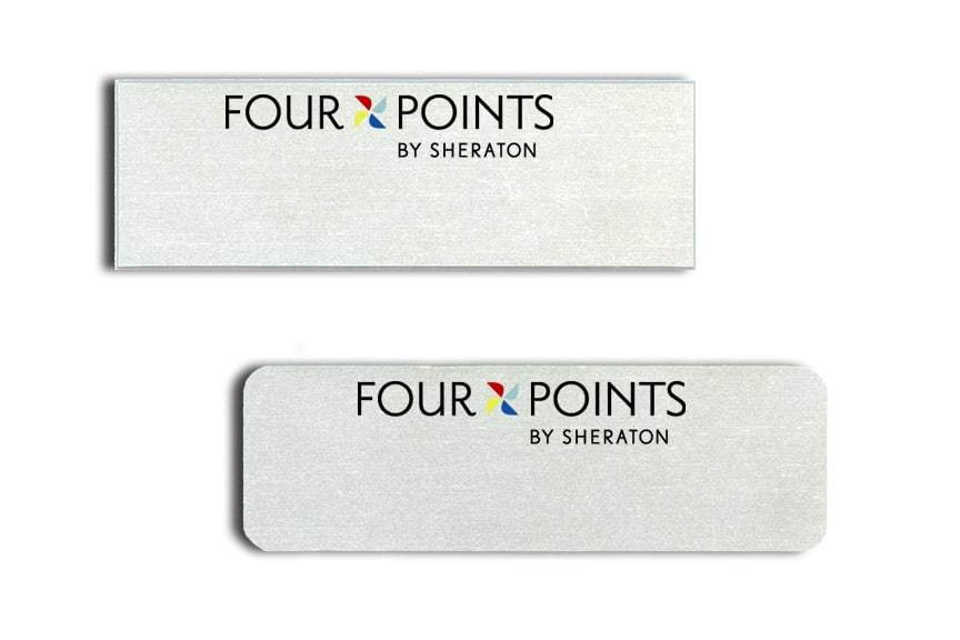 Four Points by Sheraton Name Tags Badges