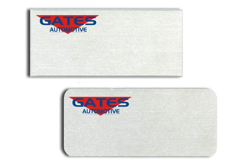 Gates Automotive Name Tags Badges