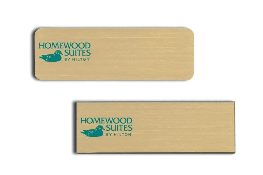 Homewood Suites Name Tags Badges