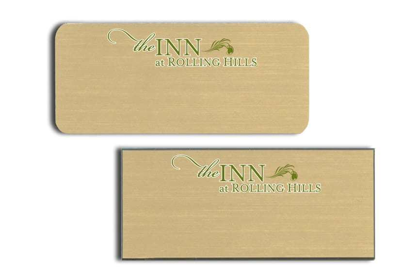 Inn at Rolling Hills Name Tags Badges