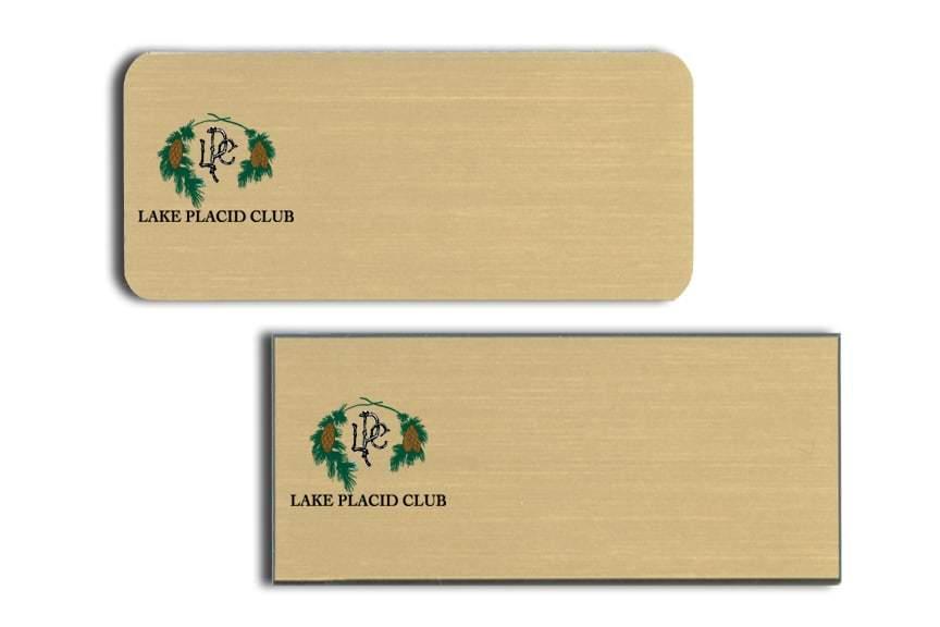 Lake Placid Club Name Tags Badges