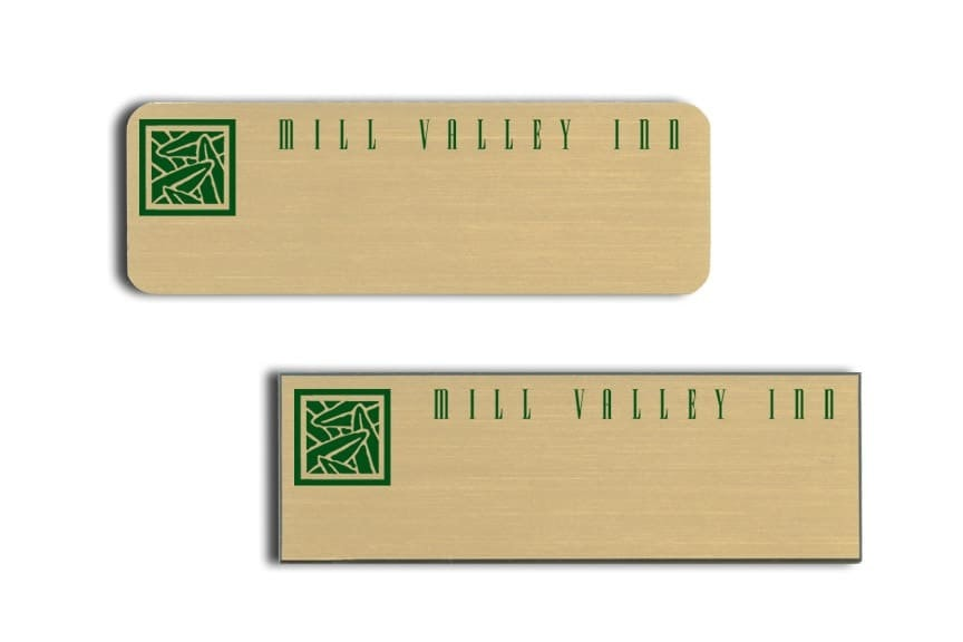 Mill Valley Inn Name Tags Badges