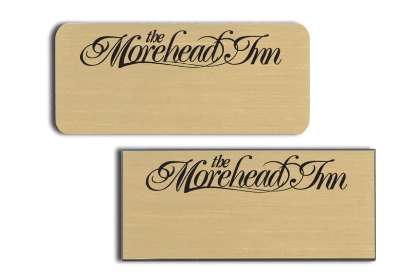 Morehead Inn Name Tags Badges