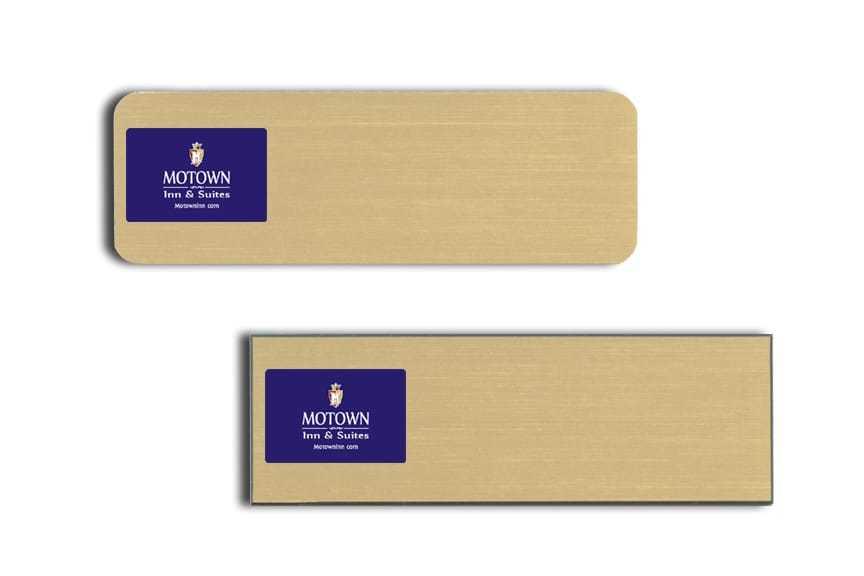 Motown Inn & Suites Name Tags Badges