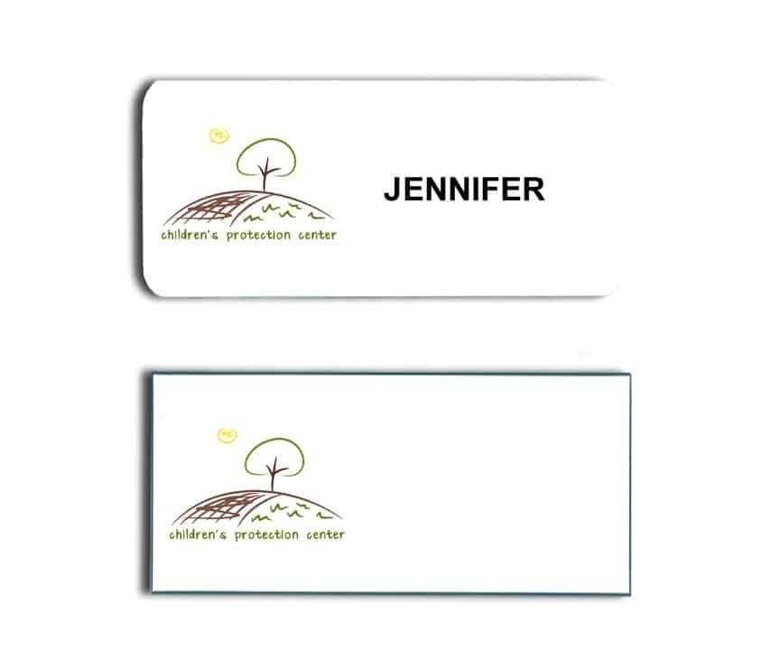 Childrens Protection Center Name Badges