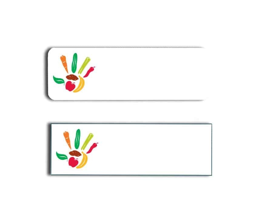 Choices Cafe Name Tags Badges