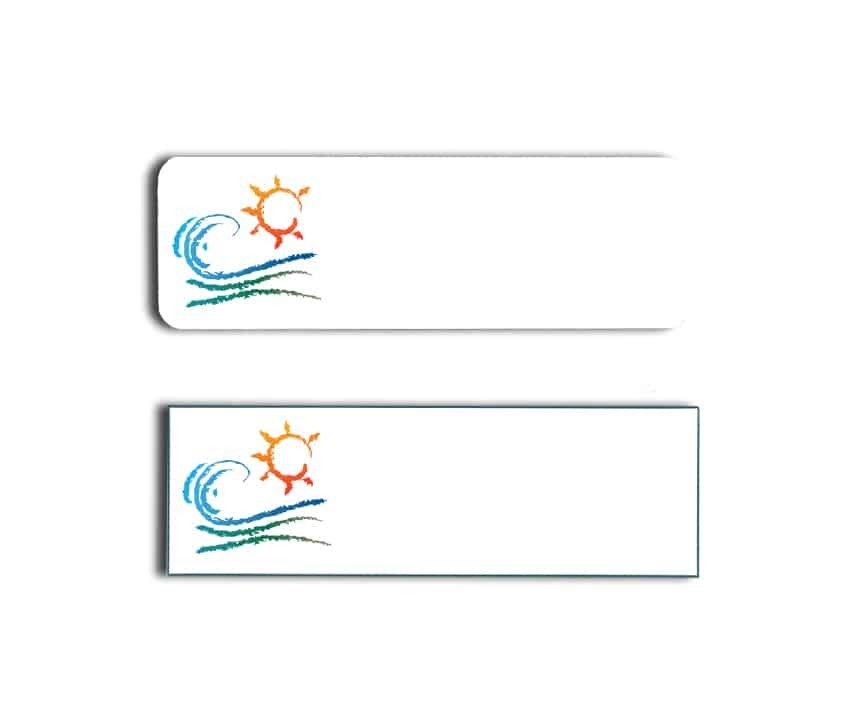Pacific Inn Name Badges Tags