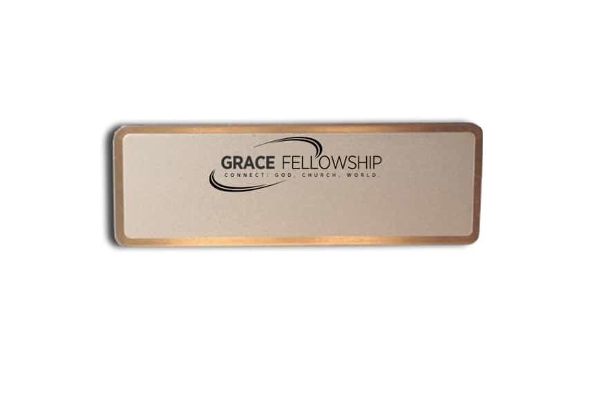 Grace Fellowship name tags badges
