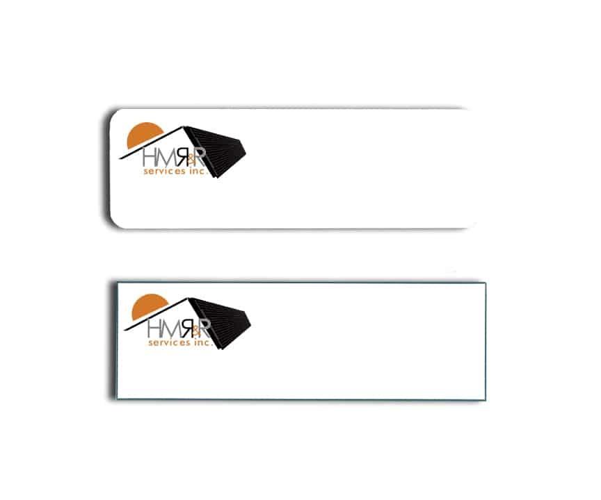HMR&R name badges tags