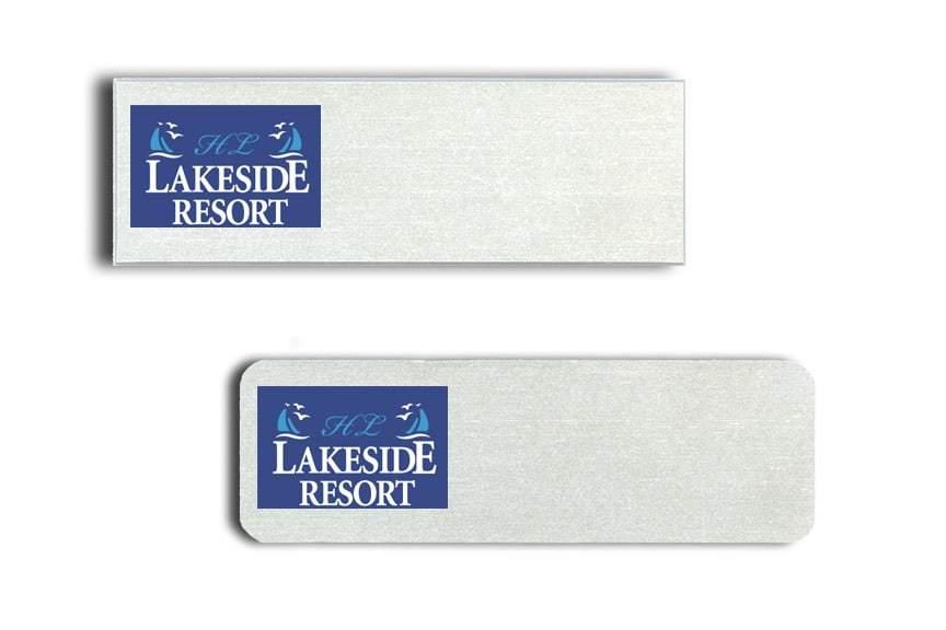 Lakeside Resort name badges
