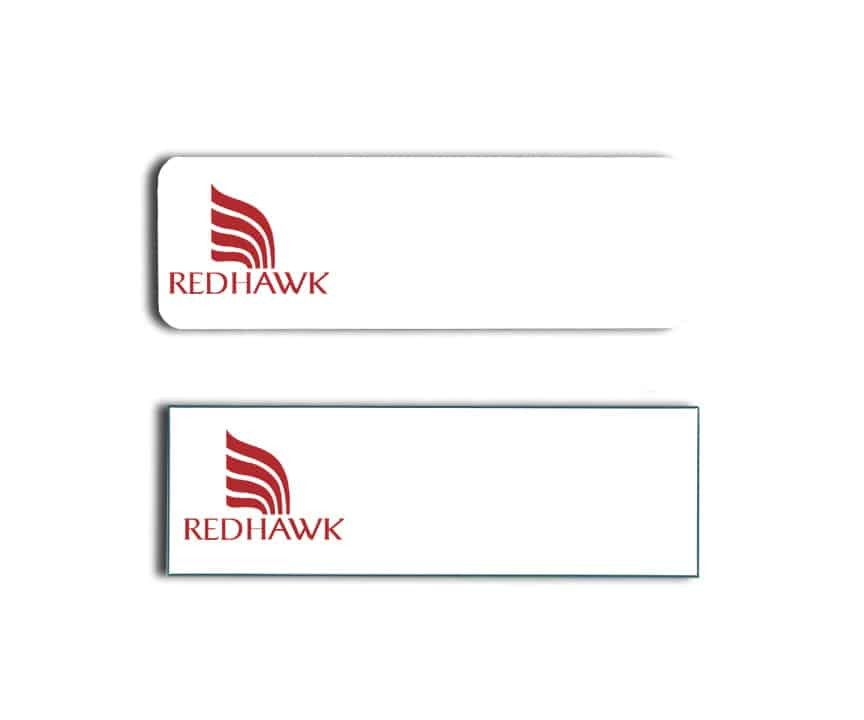 Redhawk name badges