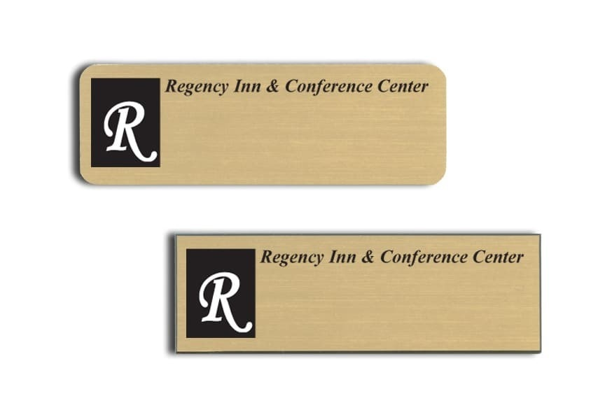 Regency Inn name badges