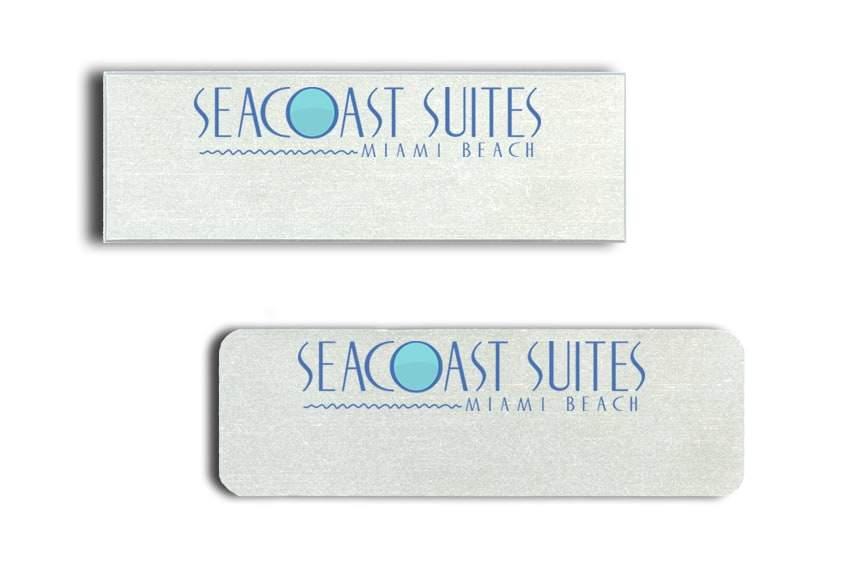 Seacoast Suites Miami name badges