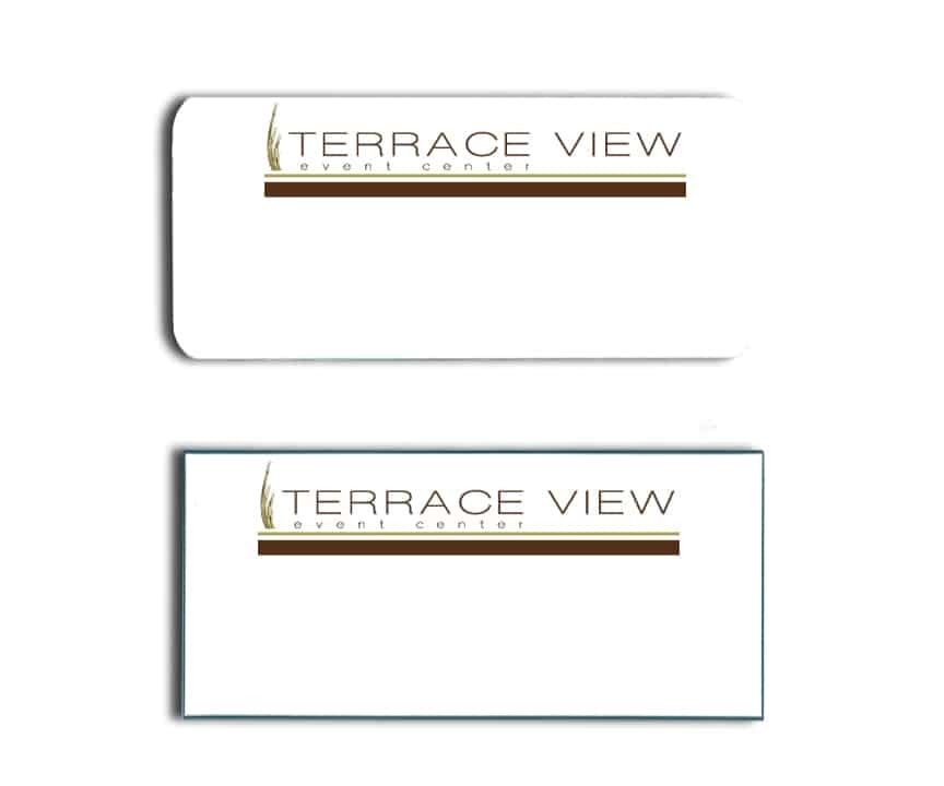 Terrace View Event Center name badges