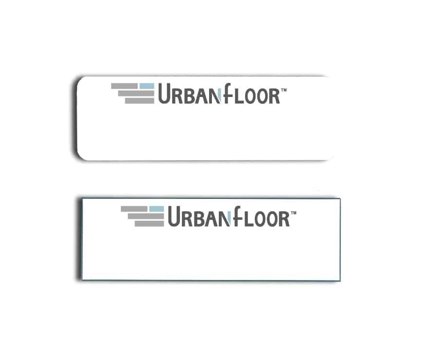 Urban Floor name badges