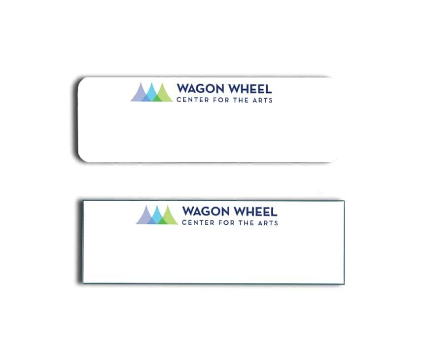 Wagon Wheel name badges