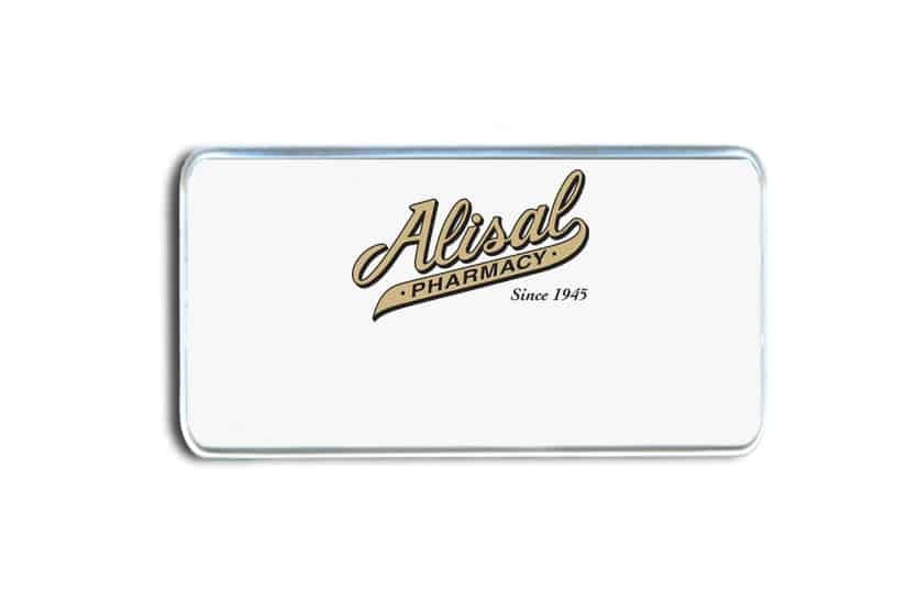 Alisal Pharmacy Name Badges