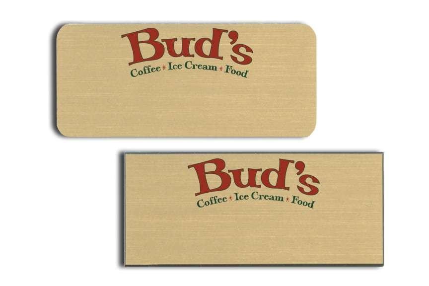 Bud's Name Badges