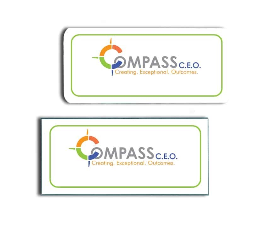 Compass CEO Name Badges
