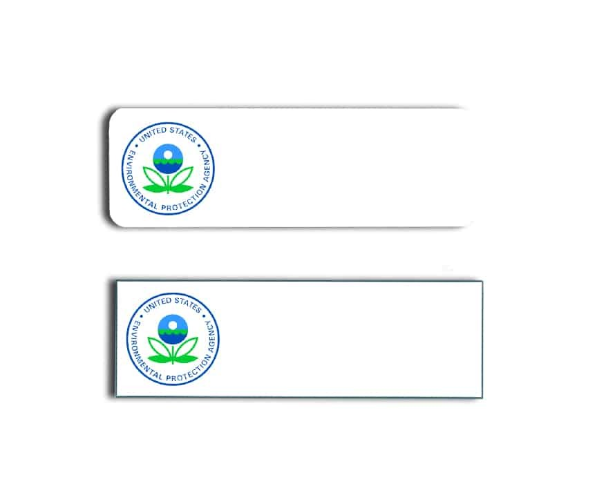 Environmental Protection Agency Name Badges