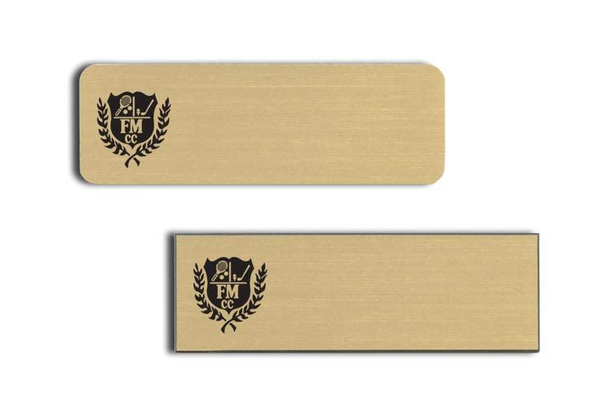Fort Mitchell Country Club Name Badges