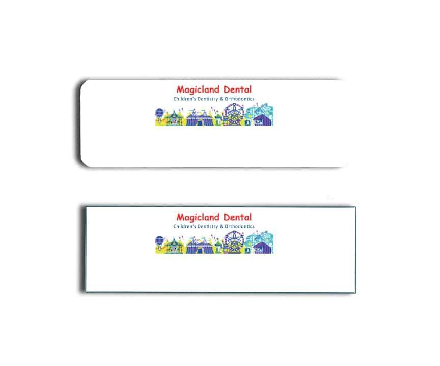 Magicland Dental Name Badges