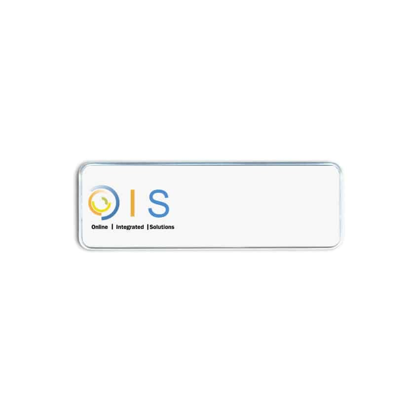 Online Integrated Solutions Name Badges