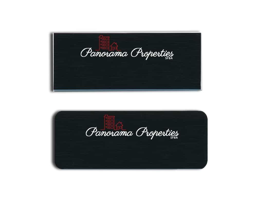Panorama Properties Name Badges