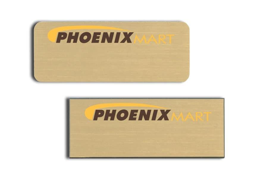 Phoenix Mart Name Badges